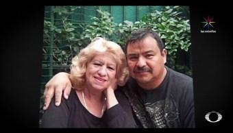 Rosa Ríos y su prometido Manuel Mosqueda, migrante detenido. (Noticieros Televisa)