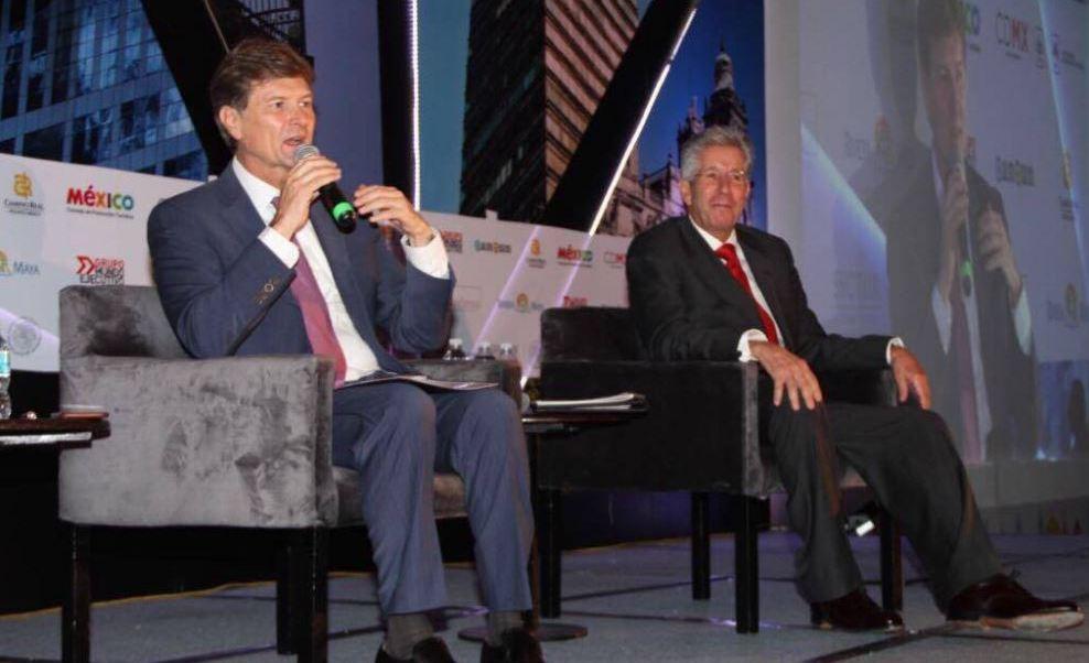Los secretarios participaron en la inauguración del XV Foro Nacional de Turismo (Twitter/@SEMARNAT_mx)