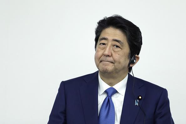 Shinzo Abre, primer ministro de Japón (Getty Images)