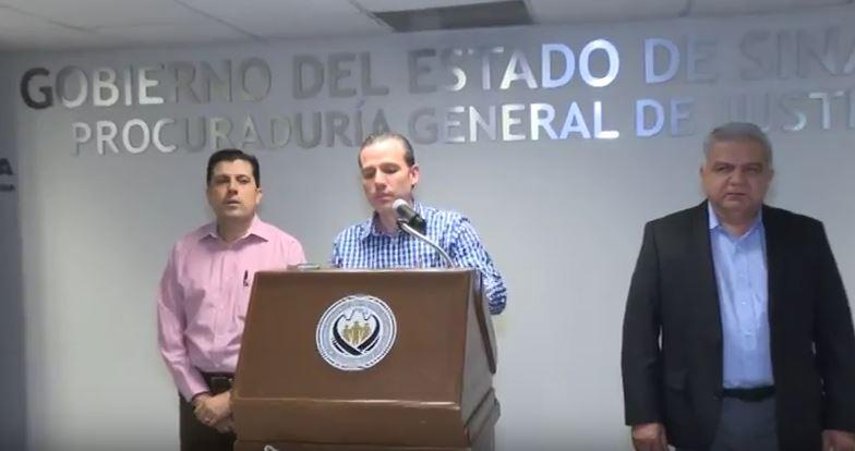 El vocero de seguridad también informó que se han asegurado diversos vehículos y armas de fuego (Noticieros Televisa )