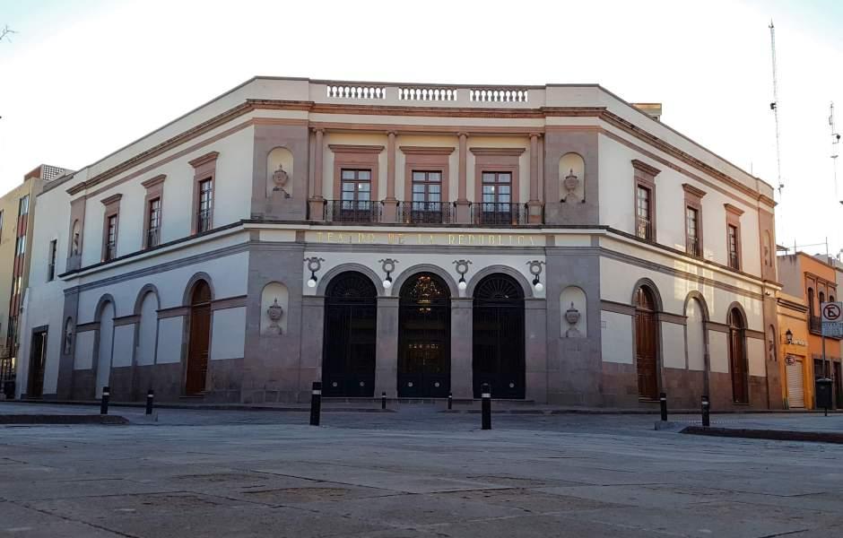 En el Teatro de la República de Querétaro se promulgó la Constitución de 1917. (Notimex, archivo)