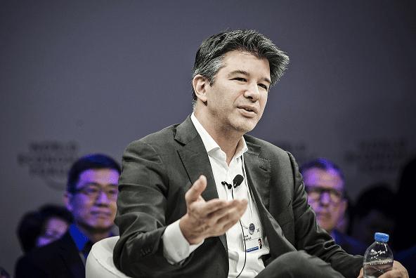 Travis Kalanick, director general de Uber, habla durante una conferencia en China.