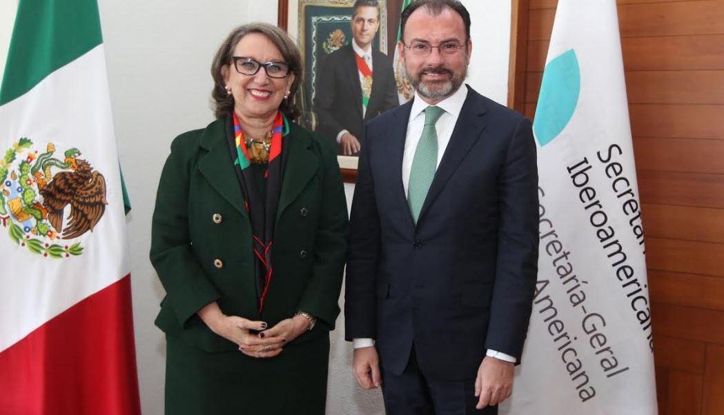 El canciller Videgaray agradeció a la secretaria Grynspan su mensaje de cercanía y solidaridad (SRE)
