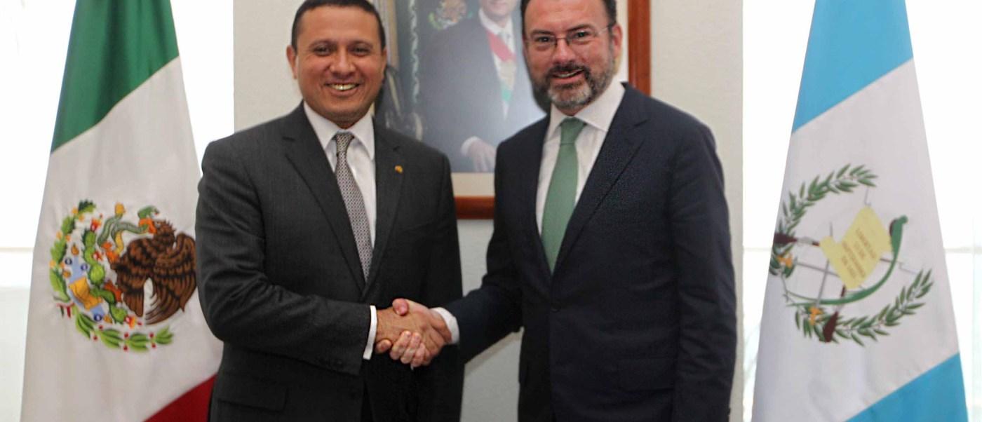 Guatemala es el primer socio comercial de México en Centroamérica y el sexto en América Latina y el Caribe