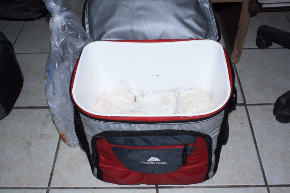 Aseguran 17 kilos de buche de Totoaba en Sonora. (PGR Sonora)