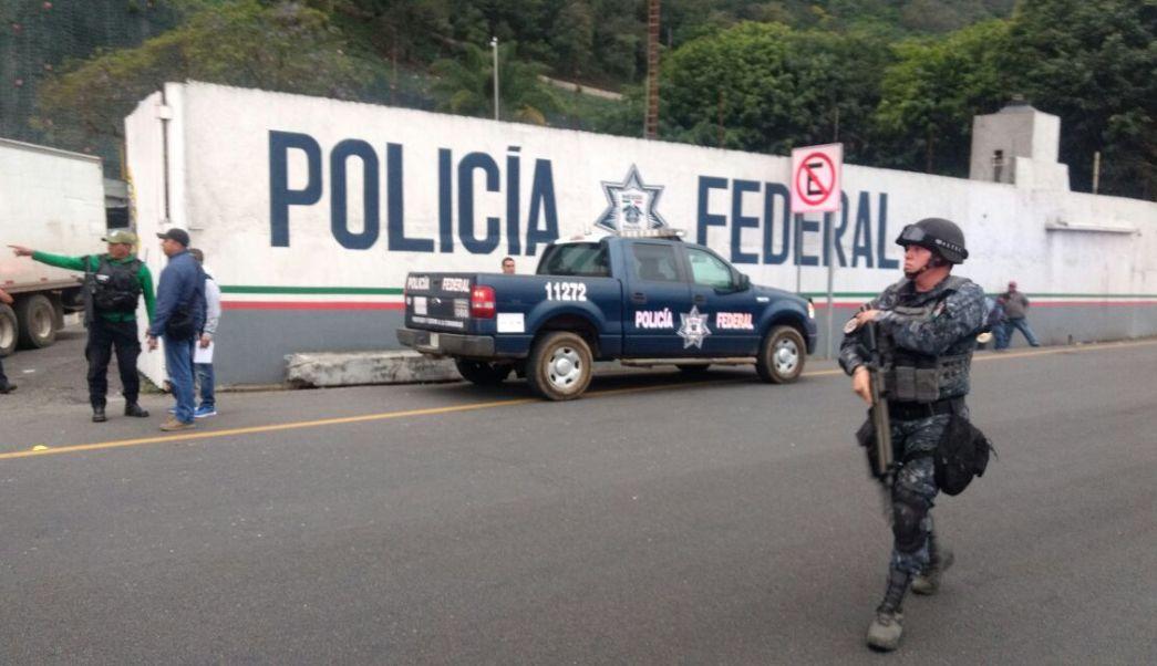 Atacan comandancia de la PF en Río Blanco, Veracruz. (Noticieros Televisa)