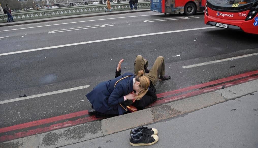 Herido tras ataque terrorista en Londres, Inglaterra. (Reuters()