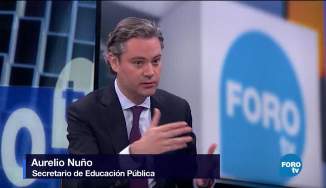 Aurelio Nuño, secretario de Educación Pública. (FOROtv)