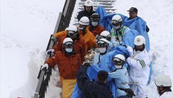Los jóvenes realizaban un curso de alpinismo. (EFE)