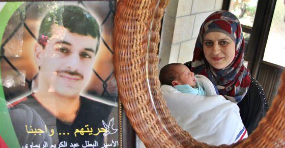 Pareja palestina que obtiene su hijo con semen de contrabando (palestinalibre.org)