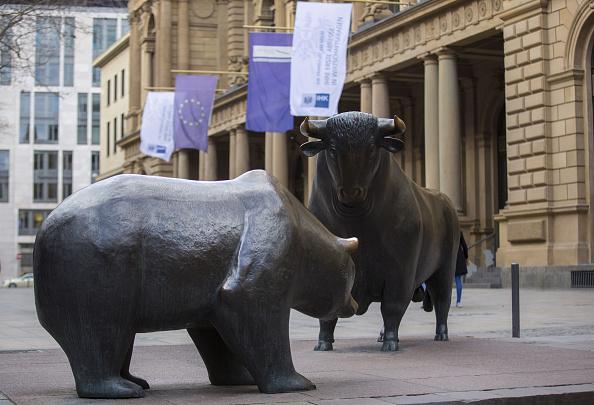 La fusión de la Bolsa de Frankfurt y de la Bolsa de Londres están en duda. (Getty Images)