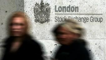 Fachada de la Bolsa de Londres. (AP, archivo)
