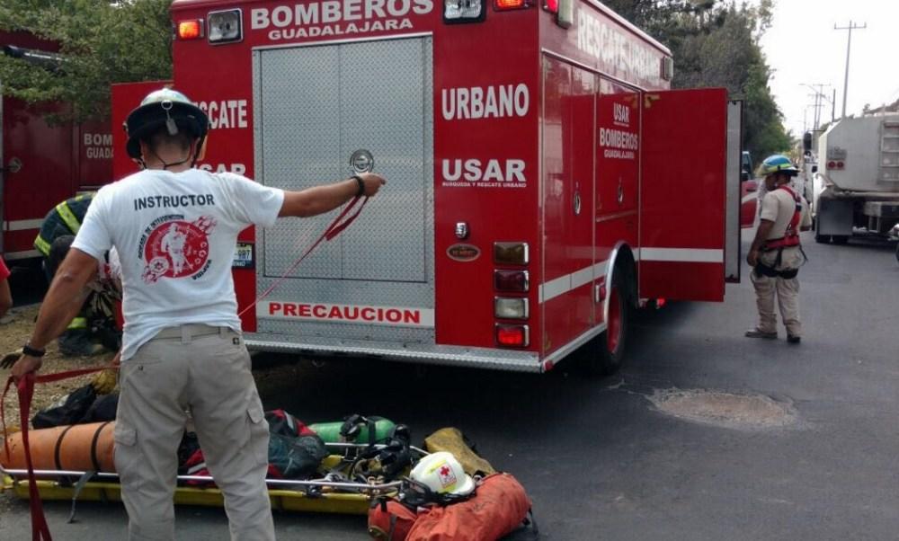 Bomberos de Guadalajara. (Twitter: @PCYBOMGDL/Archivo)