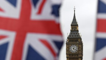 A las 12:20 de Reino Unido, hora que marca el Big Ben, Theresa May activó el Artículo 50. (Getty Images)