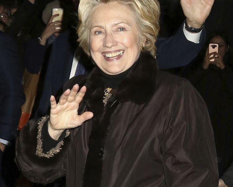 Hillary Clinton durante su campaña presidencial por el Partido Demócrata. (AP)