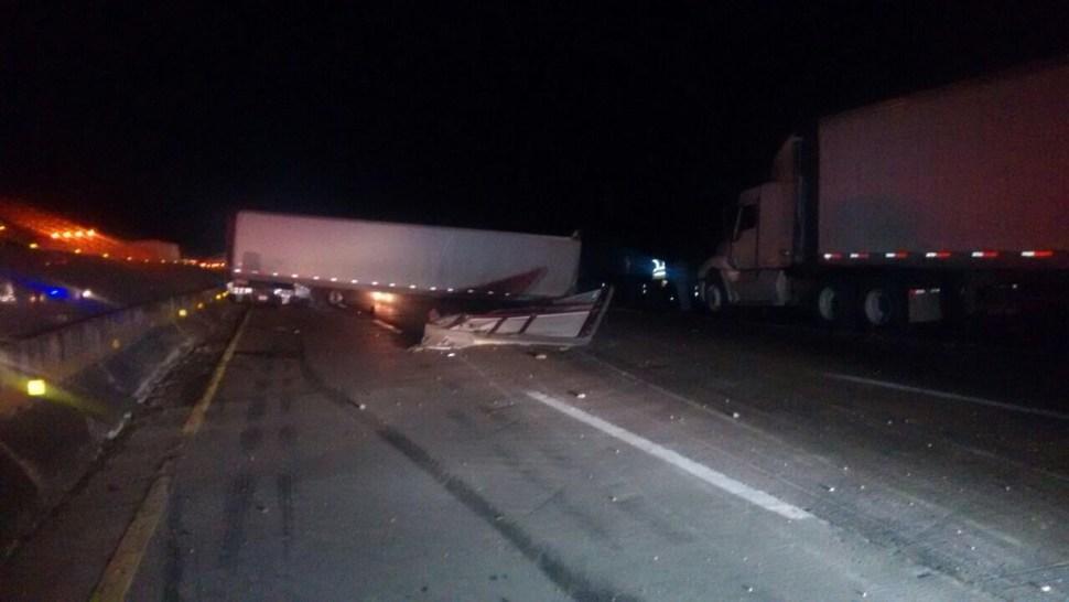 Carambola en la autopista México - Querétaro (Noticieros Televisa)
