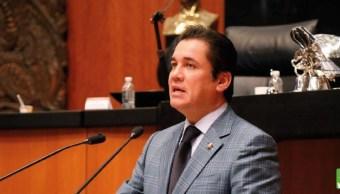 Carlos Puente Salas, coordinador del PVEM en el Senado. (Twitter: @CarlosPuenteZAC)