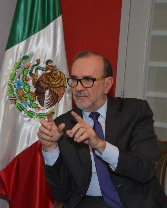 Carlos Sada, el subsecretario para América del Norte de la SRE. (Notimex, archivo)