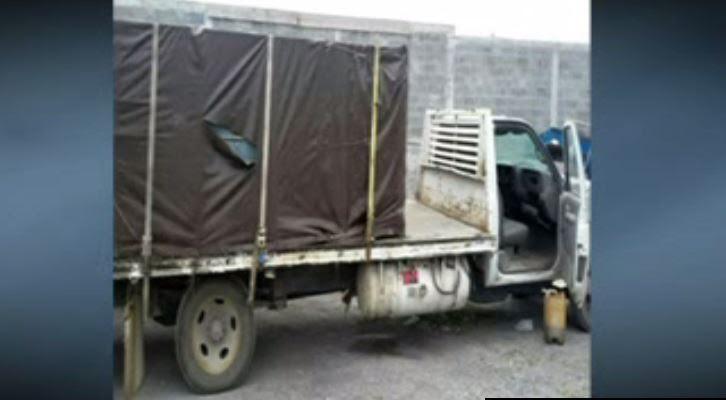 Decomisan más de 55 mil litros de hidrocarburo y transportes de carga en Allende, Nuevo León. (Noticieros Televisa)