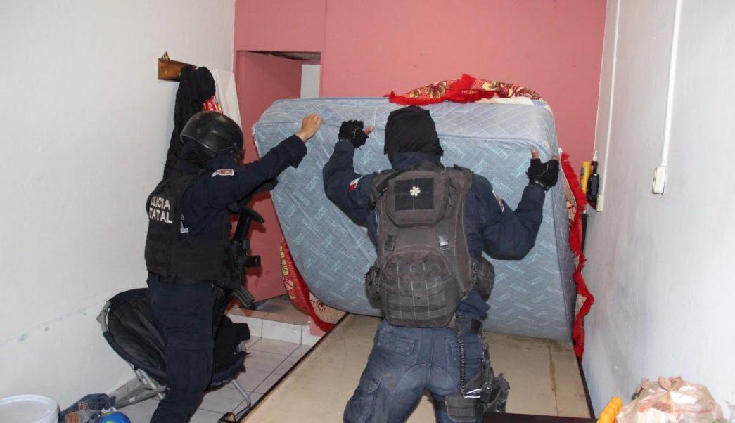 Fuerzas Federales desmantelaron las celdas de lujo en el penal de Aguaruto, en Culiacán, Sinaloa. (SSP-Sinaloa)