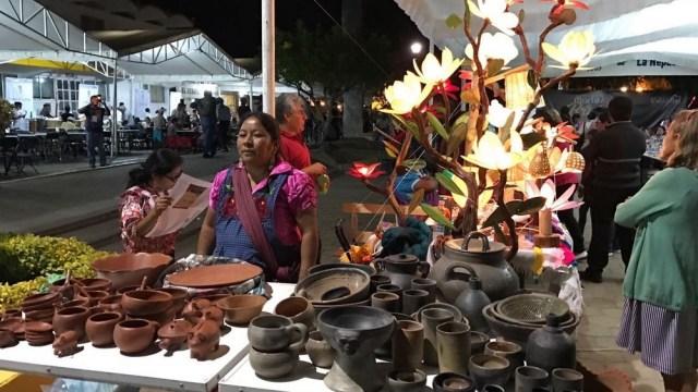 Celebración del primer Martes de Brujas en Oaxaca. (Twitter @AlejandroL_J)