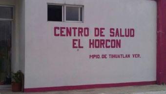 Dos doctoras del Centro de Salud de El Horcón, en el municipio de Tihuatlán, Veracruz, son secuestradas y liberadas horas más tarde; el hospital permanecerá cerrado hasta el próximo lunes, cuando la seguridad sea reforzada. (Redes Sociales)