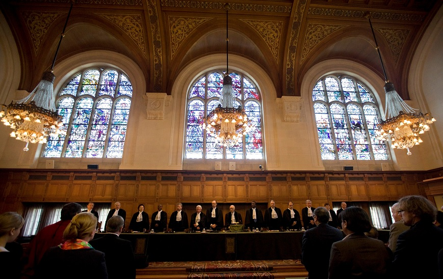 Una sesión en la Corte Internacional de Justicia en La Haya, Holanda (Reuters)