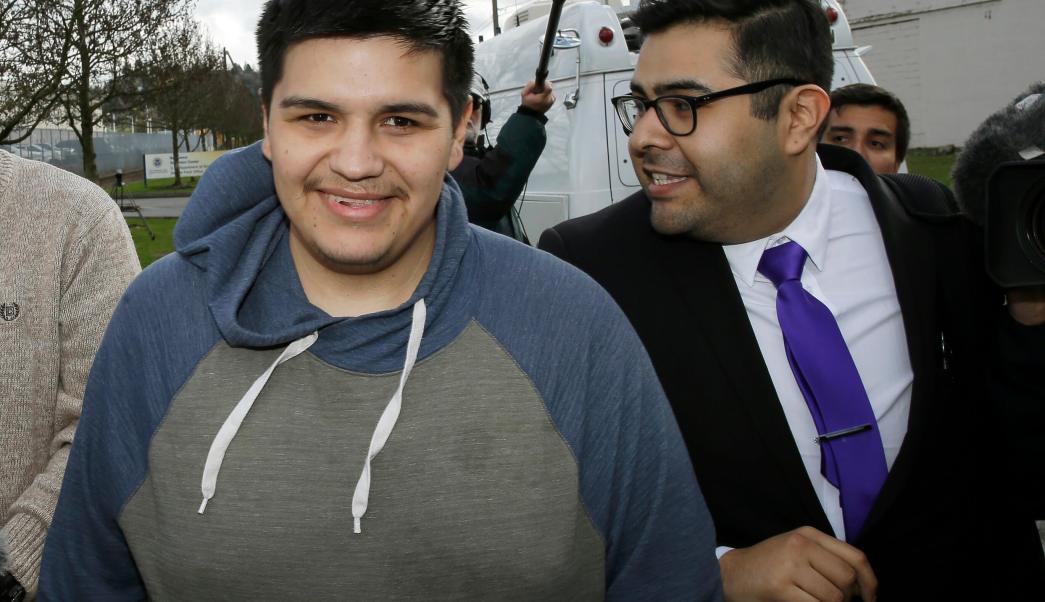 Daniel Ramírez Medida, de 24 años, salió de un centro de detención en Tacoma.