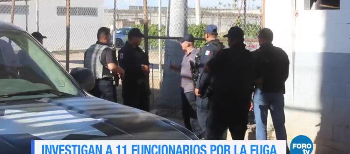 Investigan a 11 funcionarios por fuga de reos en Culiacán