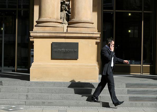Bolsa de valores de Frankfurt. (Getty Images)