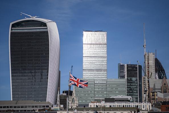 Distrito financiero de Londres, Inglaterra,. (Getty Images)