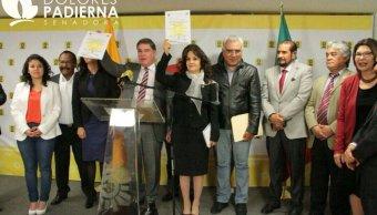 Dolores Padierna dijo que dieron un paso firme para normalizar la vida interna del grupo parlamentario. (Twitter: @Dolores_PL)