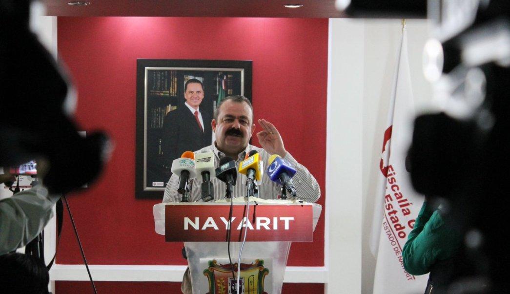 Edgar Veytia, fiscal de Nayarit. (Twitter: @FiscaliaNayarit)