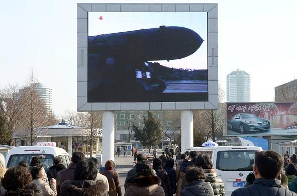 El régimen norcoreano lanzó varios proyectiles desde la costa oriental del país.