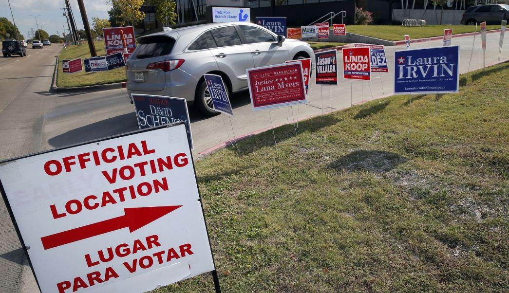 Jueces federales en Texas sentencian que republicanos manipularon racialmente algunos distritos para las votaciones al Congreso. (AP/archivo)