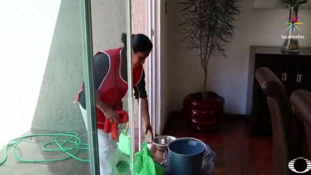 Empleadas domésticas en México aún sufren abusos. (Noticieros Televisa)