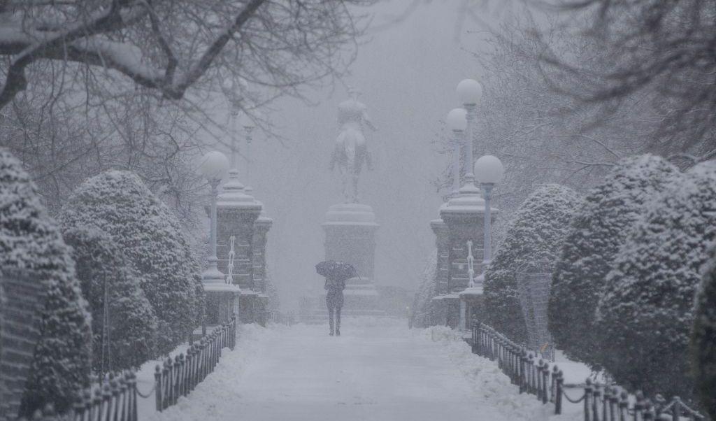 En Nueva Jersey y Connecticut la nieve llegó a hasta 33 cm.