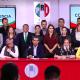 Enrique Ochoa, presidente del PRI, durante la conferencia de prensa. (@EnriqueOchoaR)