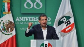 Enrique Ochoa Reza, líder nacional del PRI. (pri.org.mx, archivo)