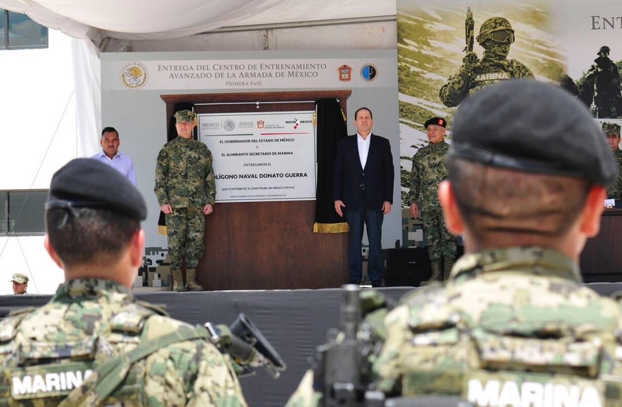 Eruviel Ávila llama al Congreso a aprobar Ley de Seguridad Interior