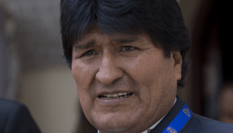 Evo Morales, presidente de Bolivia. (AP, archivo)