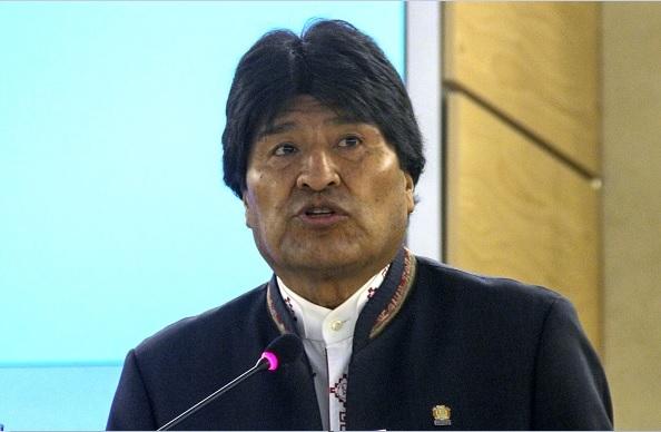 Resultado de imagen para Evo Morales en cumbre alba
