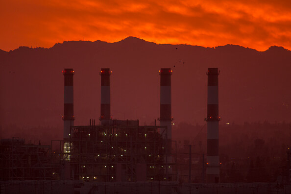 Aspectos de una fábrica en California, Estados Unidos. (Getty Images, archivo)