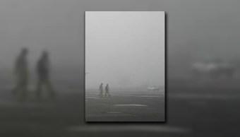 Niebla impide operaciones en al Aeropuerto de San Luis Potosí; las llegadas se encuentran afectadas (Twitter @ProtCivilSLP, archivo)