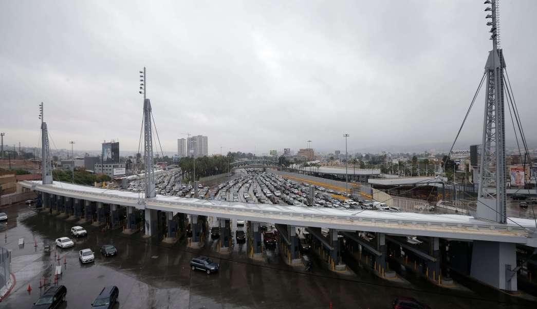 Frontera de Tijuana con Estados Unidos (Ap, archivo)