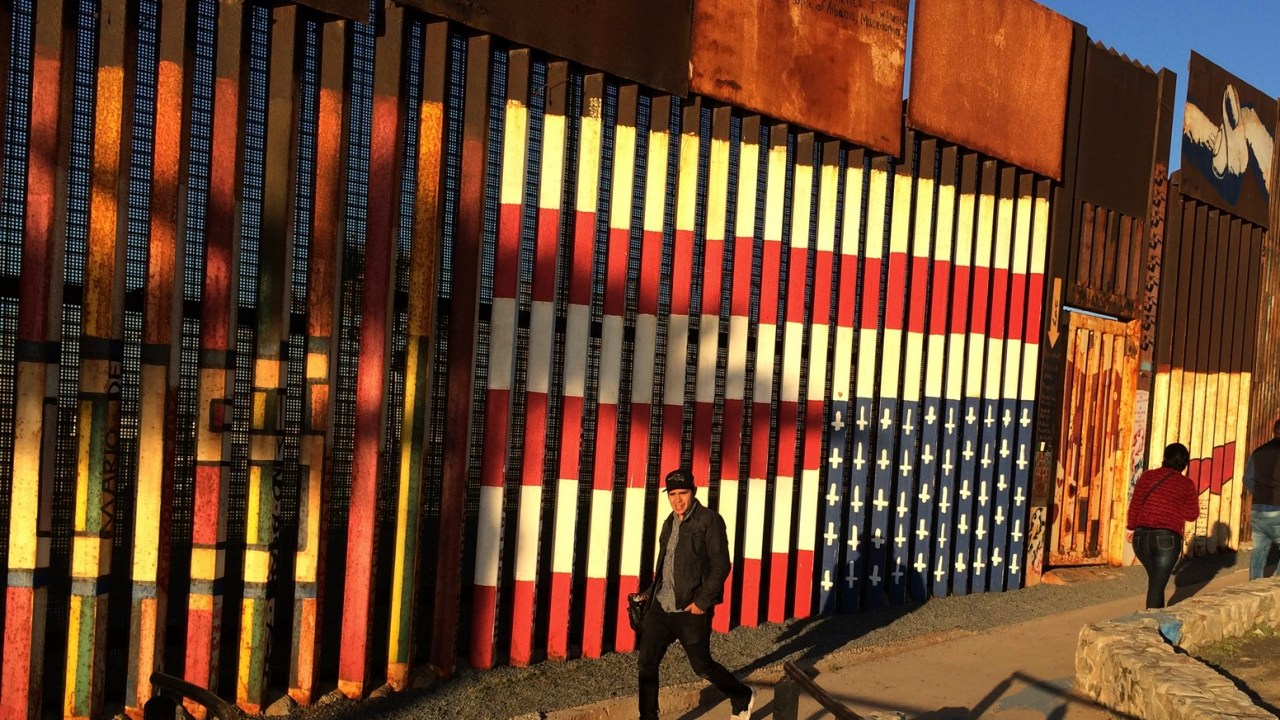 División en la frontera de México y Estados Unidos. (AP, Archivo)