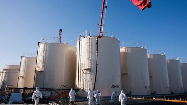 La planta nuclear de Fukushima Dai-ichi de la Tokyo Electric Power Co. (TEPCO), en la ciudad de Okuma, prefectura de Fukushima, Japón (Twitter @TEPCO_English)