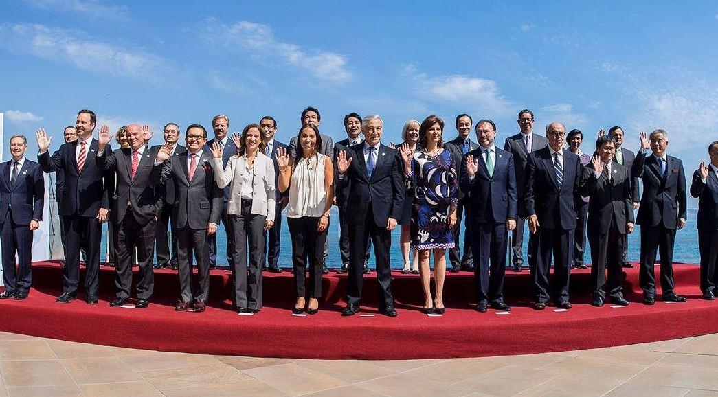 Videgaray y Guajardo participaron en la Reunión Extraordinaria de Ministros de la Alianza del Pacífico (Twitter/@ildefonsogv)