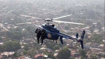 Helicóptero se suma a la vigilancia en Ciudad Juárez; autoridades buscan disminuir la violencia (Twitter @MunicipioJuarez)