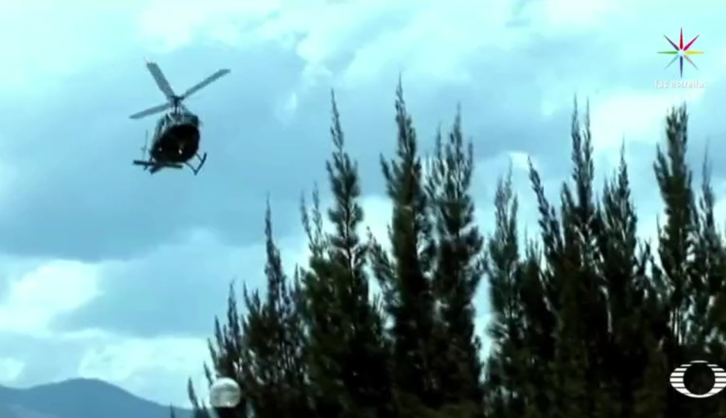 La aeronave Bell 206 era tripulada por cinco elementos del Ejército mexicano